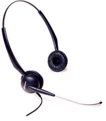 GN Netcom 2115 SoundTube Binaural Amplified Headset New
