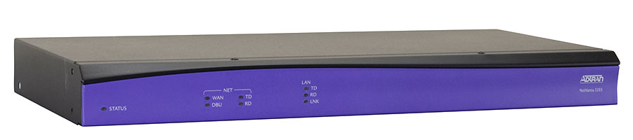 Adtran NetVanta 3205 DC Chassis w/ Enhanced Feature Software New