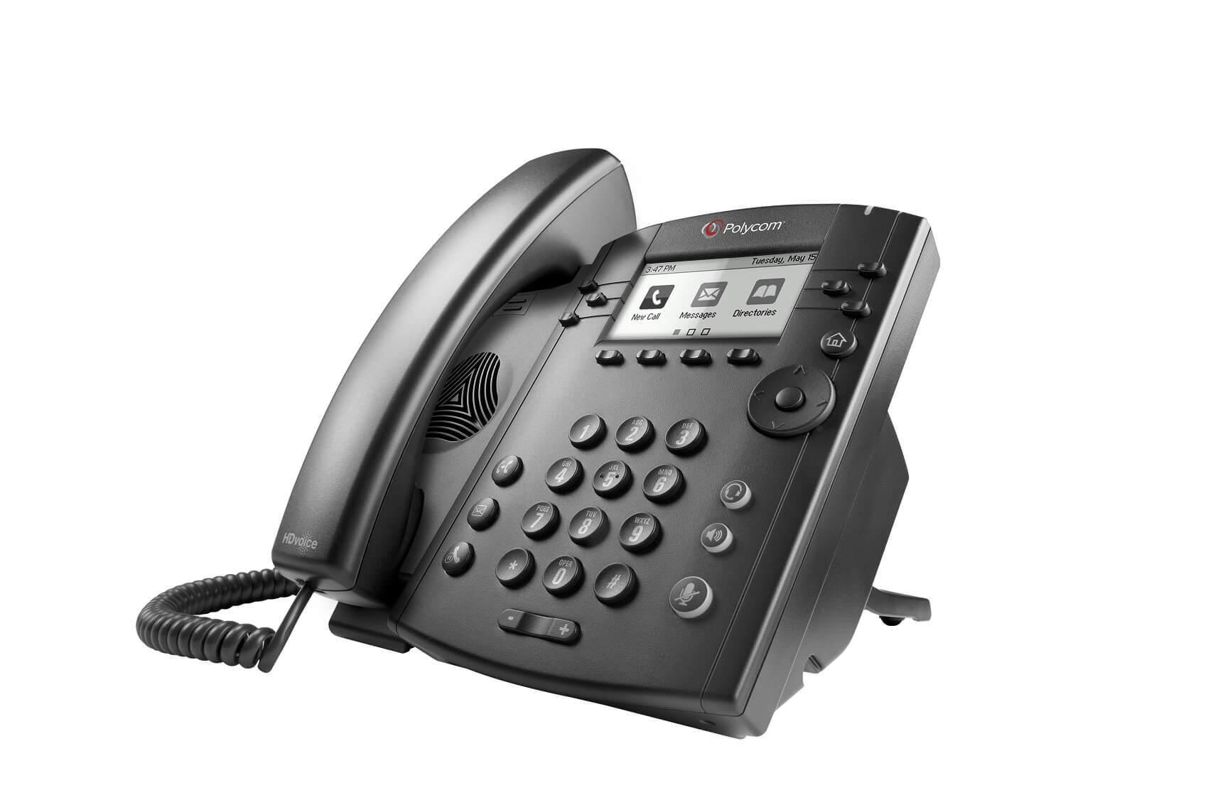 Polycom VVX 310 Gigabit IP Phone New