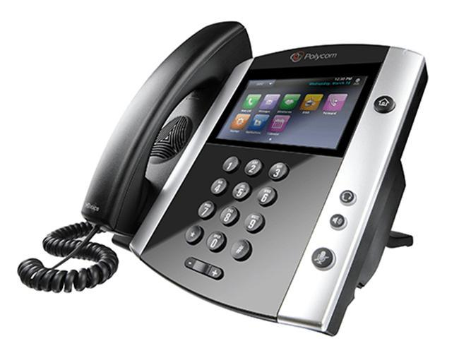 Polycom VVX 601 Gigabit IP Phone