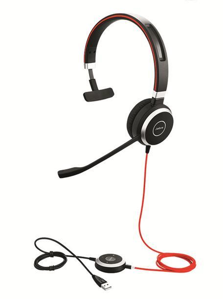 Jabra Evolve 40 Mono USB & 3.5mm Headset