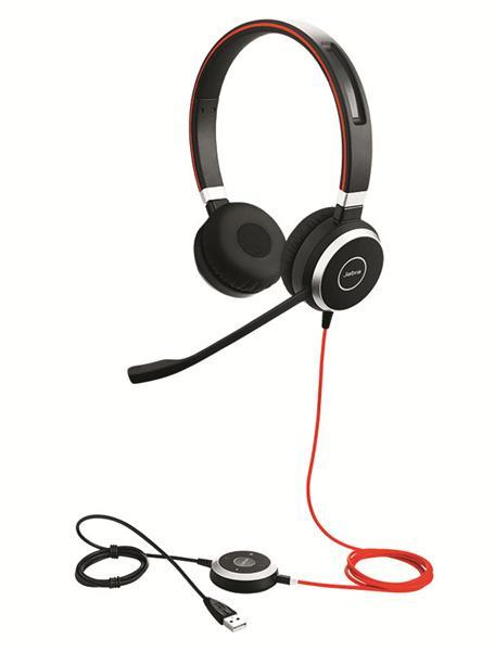 Jabra Evolve 40 Stereo USB & 3.5mm Headset
