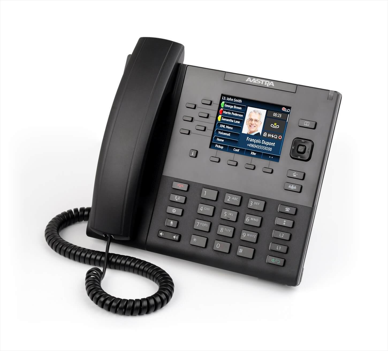 Mitel 6867 / Aastra 6867i IP Phone PoE
