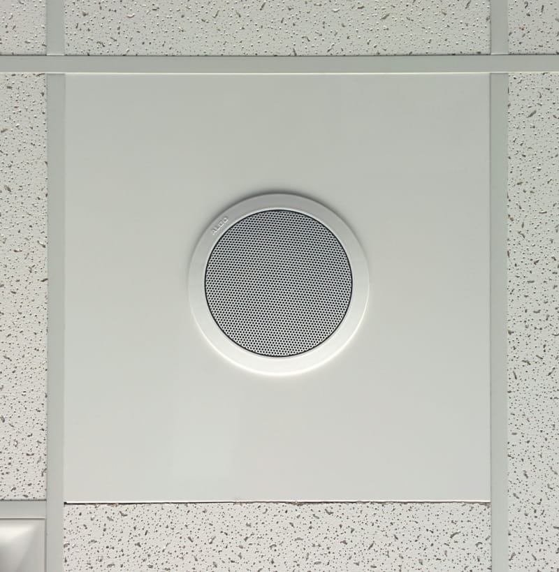 Algo Ceiling Speaker T-Bar Panel White