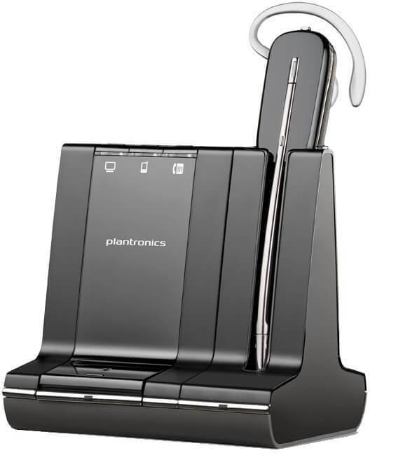 Plantronics Savi W740 Monaural Wireless Bluetooth Headset