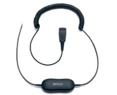 Jabra GN1200 6-Foot Coiled Smart Cord