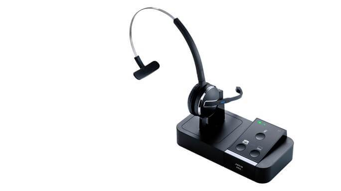 Jabra PRO 9450 Flex-Boom Wireless Headset