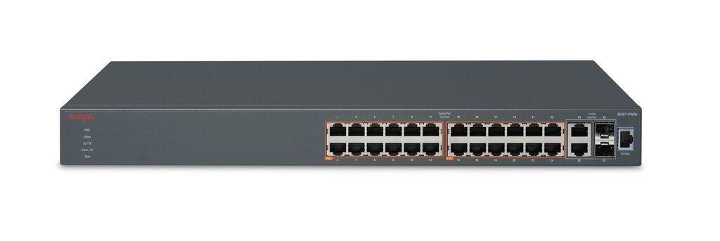 Avaya ERS 3526T-PWR+  24 Port 10/100 PoE+ Data Switch New