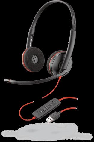 Plantronics Blackwire 3220 Corded Binaural UC Headset