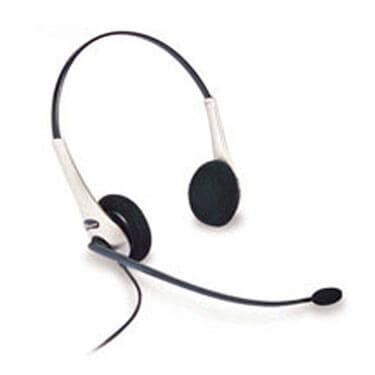 GN Netcom 2225 Binaural High-Performance NC Headset (Omega) New