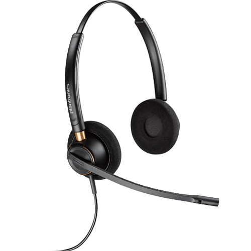 Plantronics EncorePro HW520D UC Digital Noise Canceling Headset - USB connector sold separately