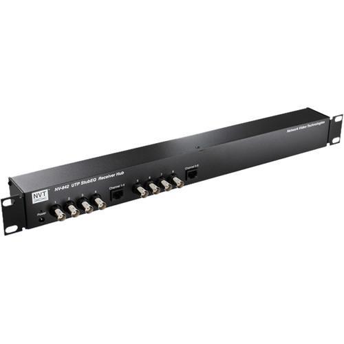 NVT Phybridge NV-842 StubEQ Active Receiver Hub (8 Channels)