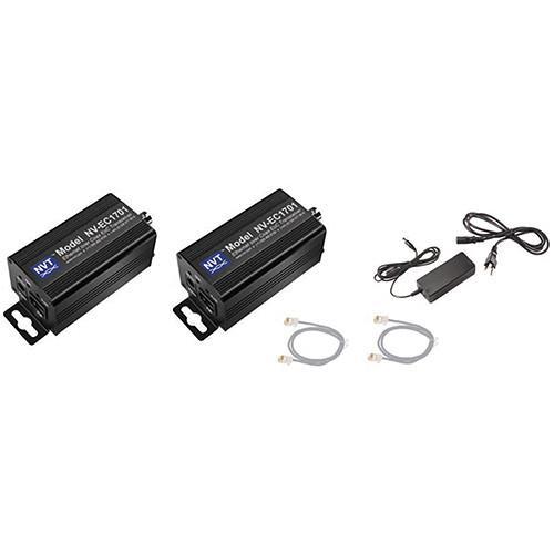 NVT Phybridge NV-EC1701-K1H Ethernet/PoE to Coax Kit