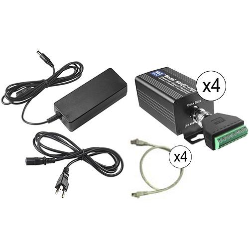 NVT Phybridge NV-EC1701U-K3H 3-Camera Eo2 Transmission System