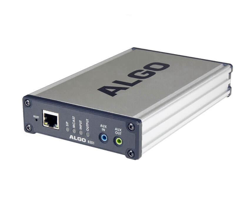 Algo 8301 SIP Paging Adapter & Scheduler