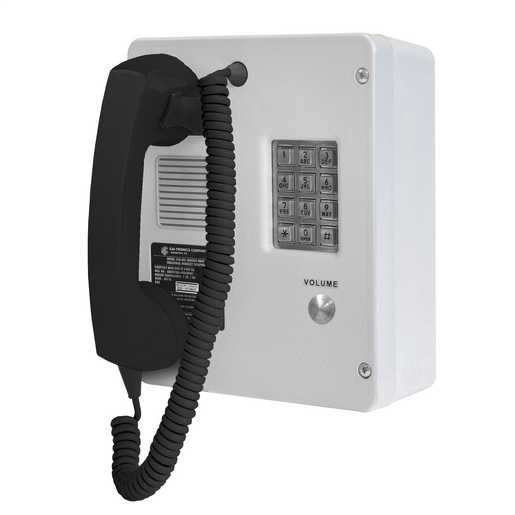 GAI-Tronics VoIP Rugged Indoor Phone with Keypad