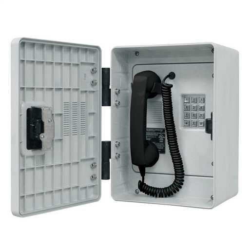GAI-Tronics Rugged Outdoor Analog Phone w/Standard Keypad