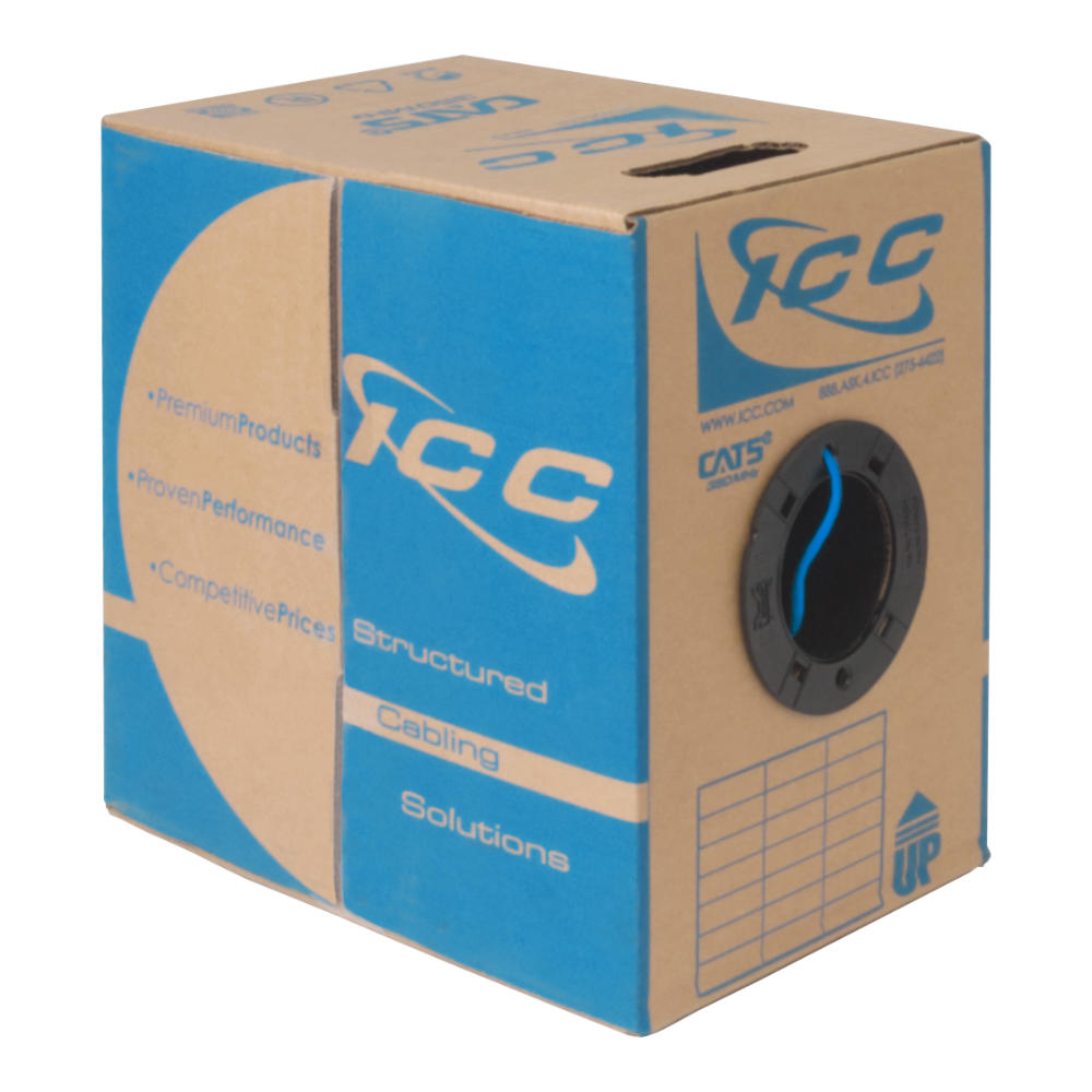 ICC Category 5e Plenum Cable in 1000' Pull Box
