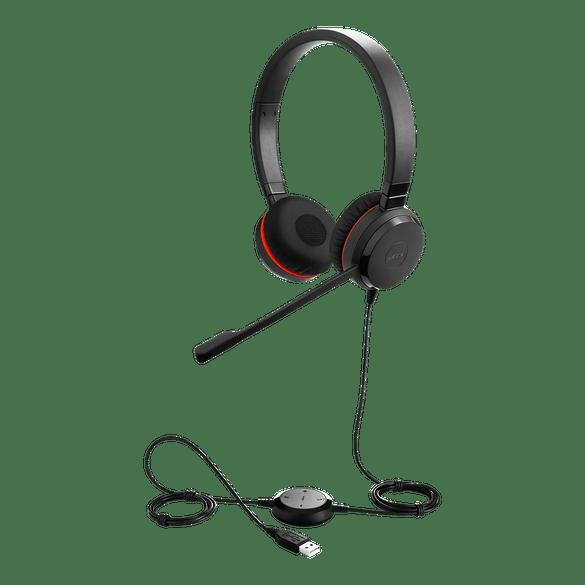 Jabra Evolve 30 II Stereo USB & 3.5mm Headset