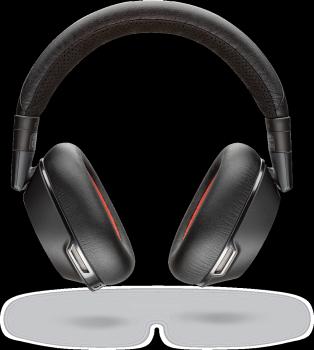 Plantronics Voyager 8200 UC Stereo Wireless Bluetooth Headset