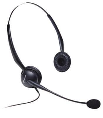 Jabra GN2125 Binaural Amplified Headset w/Noise Cancelling New