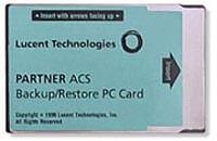 Avaya PARTNER ACS Backup/Restore Card 12A1, 107932071