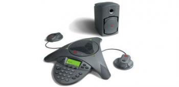 Polycom Soundstation VTX 1000 Complete System New