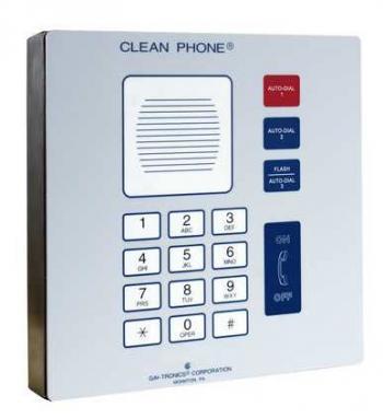 GAI-Tronics VoIP Clean Phone Wall-Mount