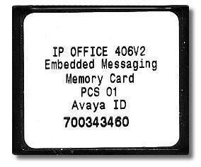 Avaya IP Office Embedded Messaging Card (700343460) Refurbished