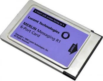 Avaya Merlin Messaging 6 Port License Card Refurbished