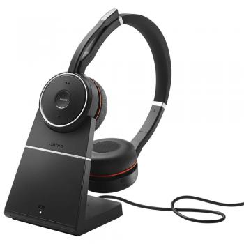 Jabra Evolve 75 Stereo UC Bundle with Charging Stand USB Wireless Headset