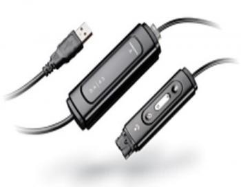 Plantronics DA45 USB to Headset Adapter New
