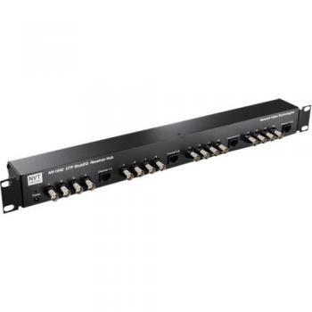 NVT Phybridge NV-1642 16 Channel StubEQ Active Receiver Hub w/ Power Supply