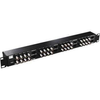 NVT Phybridge NV-3242 32 Channel StubEQ Active Receiver Hub w/ Power Supply