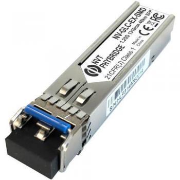 NVT Phybridge NV-GLC-EX-SMD GBIC Transceiver Module 1000Base-EX Dual LC