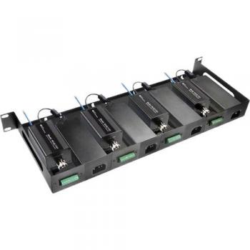 NVT Phybridge NV-RMEC16U-90 Rack Mount Tray Kit for Four Two-Wire Transceivers & Four 60/110W Power Supplies