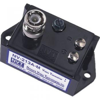 NVT Phybridge NV-213A-M Single Channel Passive Video Transceiver (with male BNC connector)