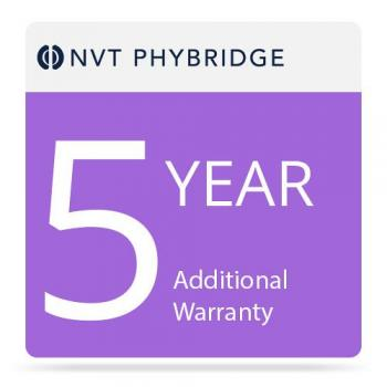 NVT Phybridge NV-PL-024-MTNC-5 5 Additional Years Warranty for Polre 24-Port Switch