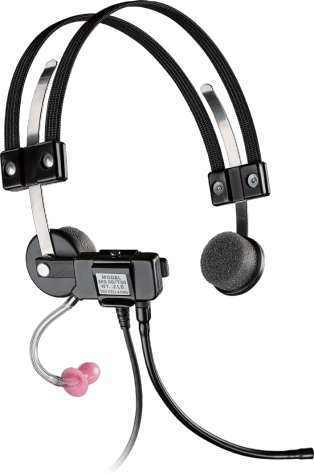 Plantronics MS50 Commercial Aviation Headset (SMS1145-04)
