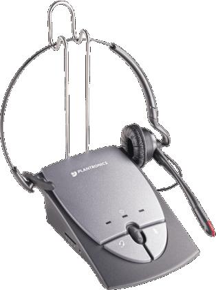 Plantronics S12 Telephone Mono Convertible Headset System