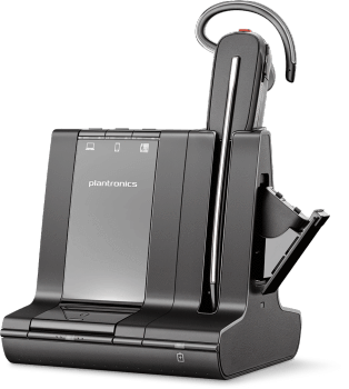 Plantronics Savi 8245 Offfice Wireless Convertible Headset with Unlimited Talk Time