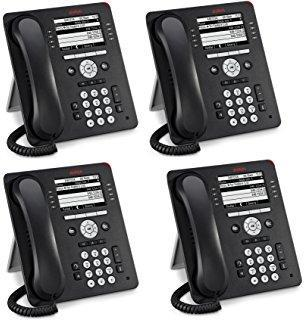 Avaya 9608G Gigabit IP Phone 4 Pack (700510905) New