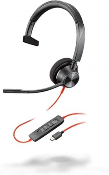 Plantronics Blackwire 3310 Monaural USB Headset
