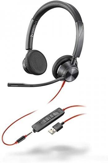 Plantronics Blackwire 3325 Binaural USB & 3.5mm Headset