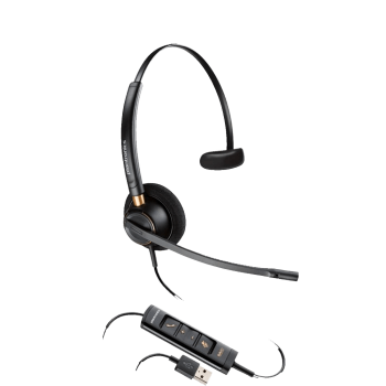 Plantronics EncorePro HW515 UC USB Corded Headset