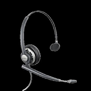 Plantronics EncorePro HW710D Monnaural UC Digital Corded Headset - USB connector sold separately