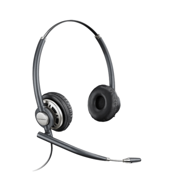 Plantronics EncorePro HW720D Binaural UC Digital Corded Headset - USB connector sold separately