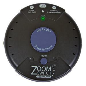 ZoomSwitch ZMS20-UC USB Headset Switch New