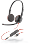 Plantronics Blackwire 3225 Binaural UC USB & 3.5mm Corded Headset